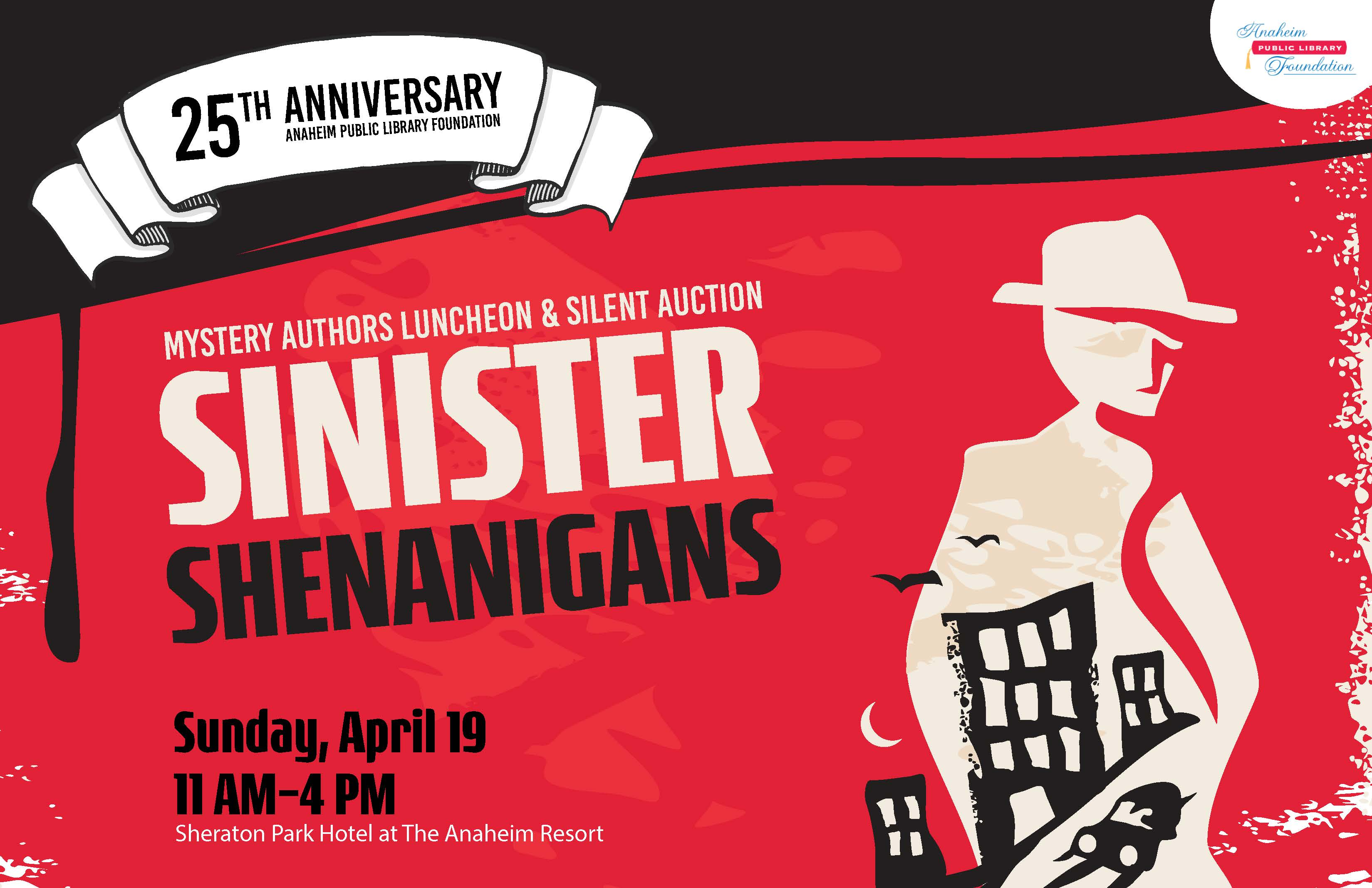 Mystery Authors Luncheon & Silent Auction