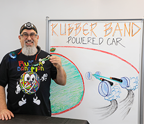 Rubberband Power Cars